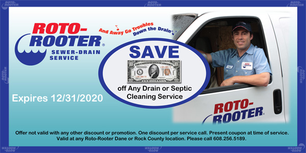 Promotions Roto Rooter Sewer Drain Cleaning Madison